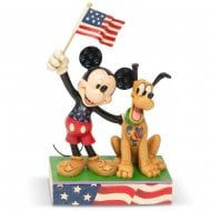 A Banner Day Mickey & Pluto Figurine