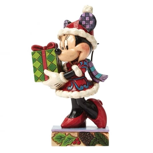 Disney Traditions A Holiday Gift For You (Minnie Mouse)