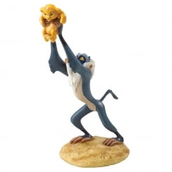 A King is Born Rafiki & Simba Figurine