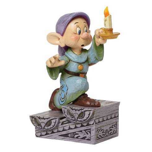 Disney Traditions A Light In The Dark Dopey with Candle