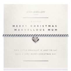 A Little Merry Christmas Marvellous Mum Bracelet