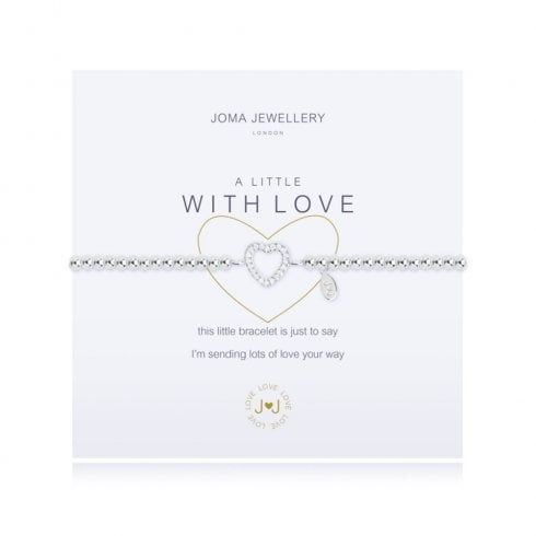 Joma Jewellery A Little With Love Bracelet