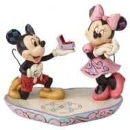 A Magical Moment Mickey and Minnie Figurine