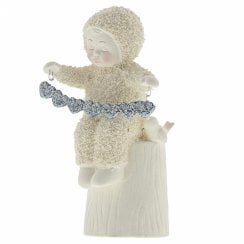 A Whole Lot Of Love Snowbaby With Garland Figurine