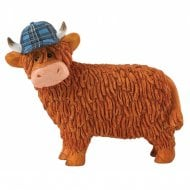 Aaron Highland Cow Figurine