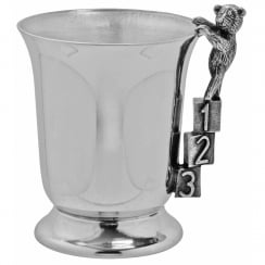 ABC/123 Bell Childs Tankard Pewter