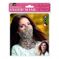 Abstract Leopard - Snood Mask