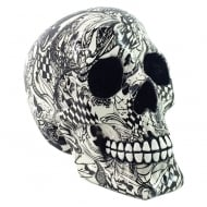 Abstraction Skull 19cm Figurine