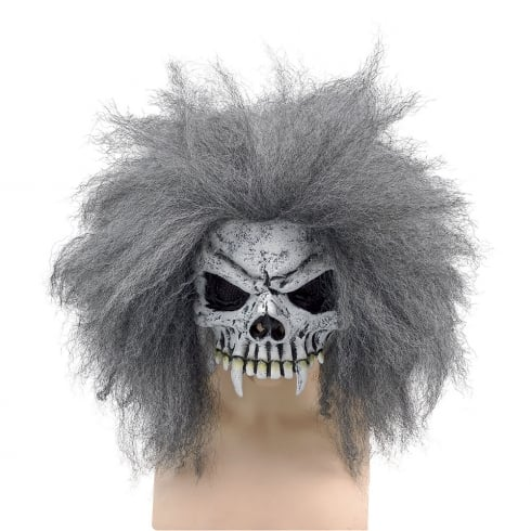 Bristol Novelty Adult Half Skull Mask