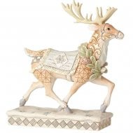 Adventure Awaits White Woodland Reindeer
