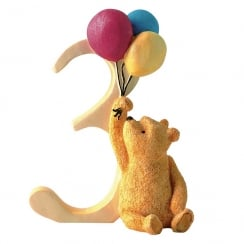 Age 3 Pooh With Balloons Figurine