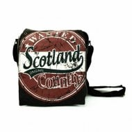Alex Scotland Messenger Bag Small Black/Red