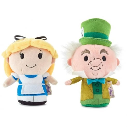 Hallmark Itty Bittys Alice in Wonderland Alice and Mad Hatter US Edition