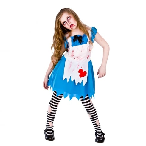 Wicked Costumes Alice In Zombieland (5-7) Medium