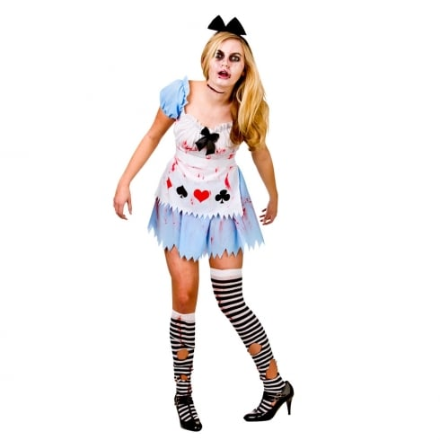 Wicked Costumes Alice In Zombieland Extra Large
