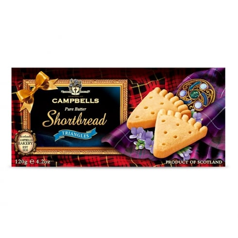 Campbells All Butter Shortbread Triangles 120g