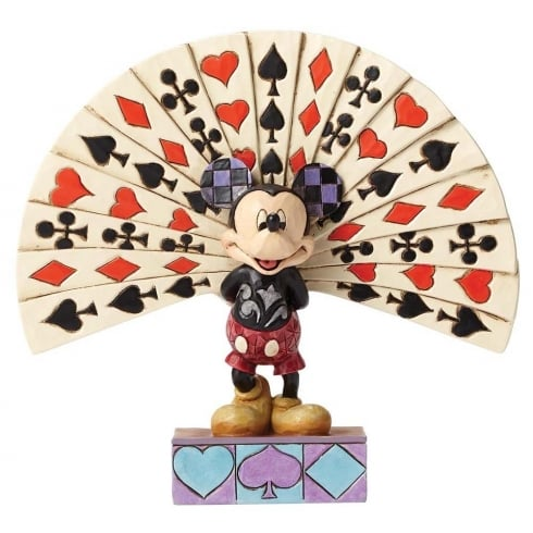 Disney Traditions All Decked Out Mickey Mouse Figurine