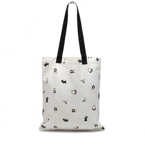 Radley All That Glitters Natural Tote Bag