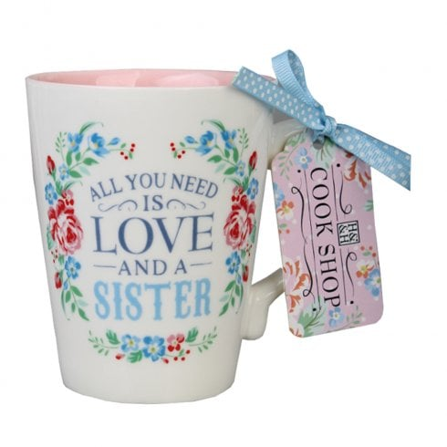 History & Heraldry All You Need is Love (Sister) Mug