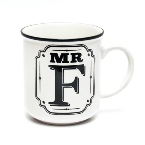 History & Heraldry Alphabet Mugs-Mr F