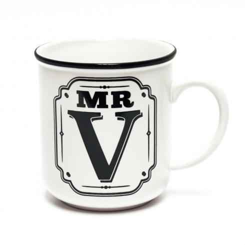 Alphabet Mugs-Mr V