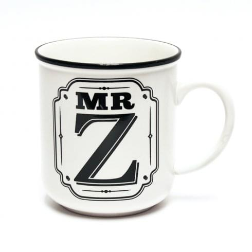 History & Heraldry Alphabet Mugs-Mr Z