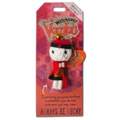 Always Be Lucky Voodoo Keyring