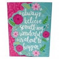 Always Believe Pocket Notepad & Pen