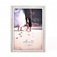 Amore By Juliana Silver Sparkle Border 5 x 7 Photo Frame