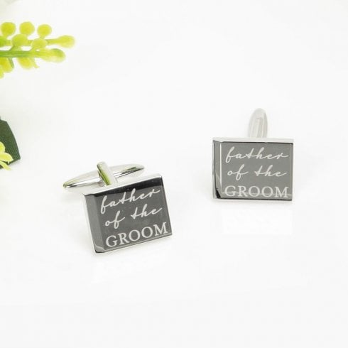 Widdop Bingham Amore Pair Of Cufflinks-Father Of The Groom