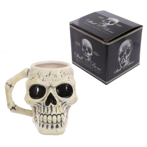 Puckator Ancient Skull Head Mug