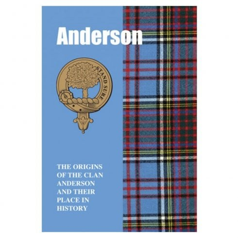 Lang Syne Publishers Ltd Anderson Clan Book