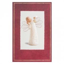 Angel Of Wonder Christmas Card With Message