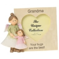Angelic Thoughts Grandma 3 x 3 Photo Frame