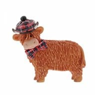 Angus Highland Cow Figurine
