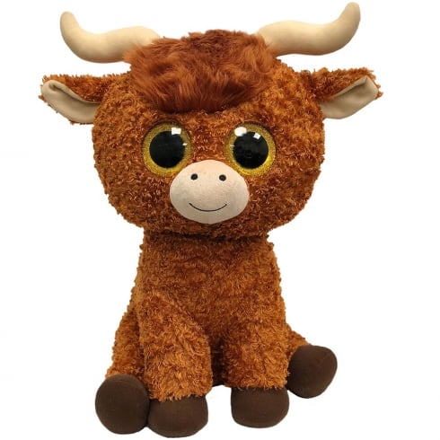 TY Angus Highland Cow Large Plush Soft Toy