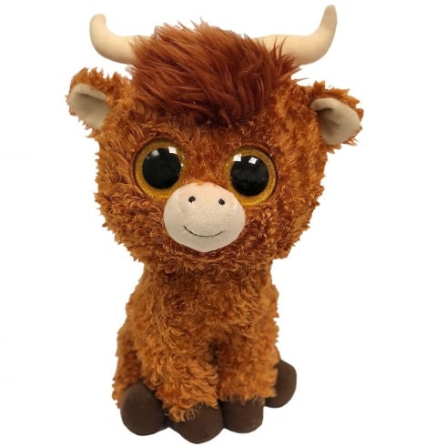 TY Angus Highland Cow Medium Plush Soft Toy