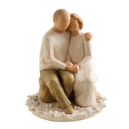 Willow Tree Anniversary Cake Topper Figurine