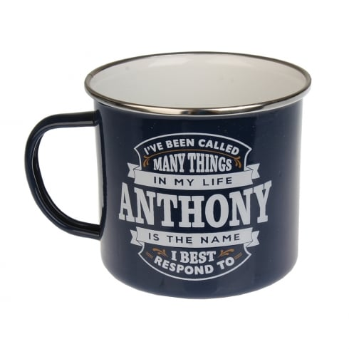 History & Heraldry Anthony Tin Mug 29