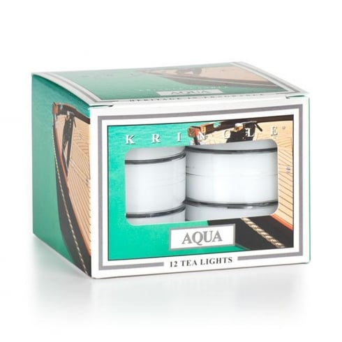 Kringle Aqua 12 Scented Tea Lights