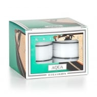 Aqua 12 Scented Tea Lights