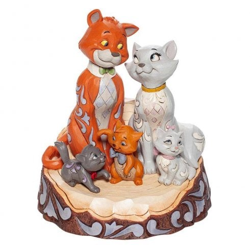 Disney Traditions Aristocats Carved by Heart Figurine