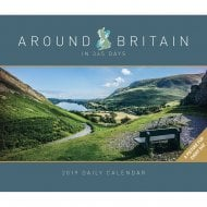 Around Britain in 365 days Boxed Calendar 2019