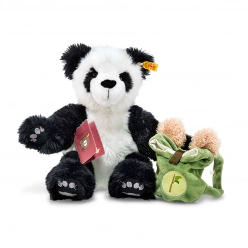 Steiff Around The World Bears Lin The Globetrotting Panda