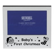 Babys First Christmas 5 x 3.5 Photo Frame