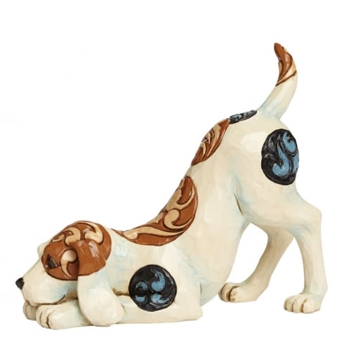 Bailey Dog Playing Figurine