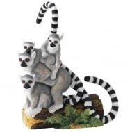 Balancing Act Lemur Group Figurine