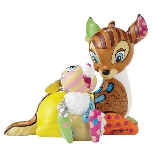 Disney By Britto Bambi and Thumper Figurine