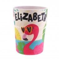 Bamboo Crew Beaker Flamingo Elizabeth