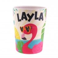 Bamboo Crew Beaker Flamingo Layla
